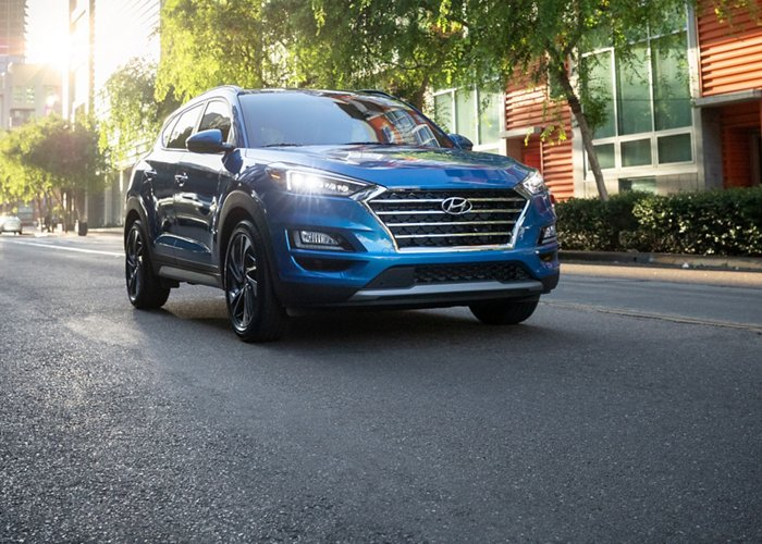 2021 Hyundai Tucson Limited LED Daytime running lights