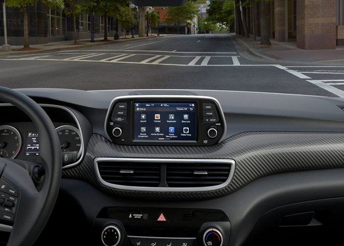2021 Hyundai Tucson Limited Color Touchscreen display
