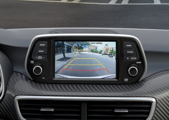 2021 Hyundai Tucson Value Rear view monitor