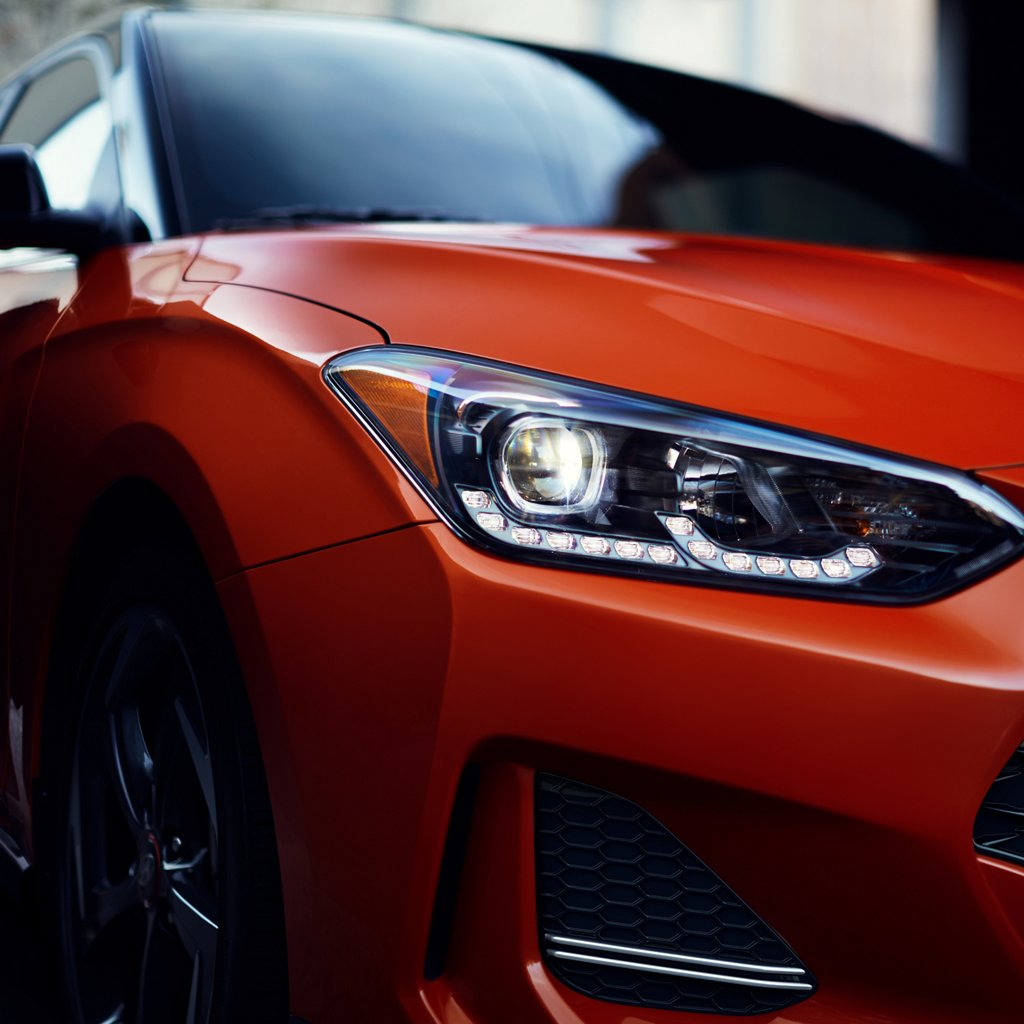 2021 Hyundai Veloster Turbo R-Spec LED Headlights