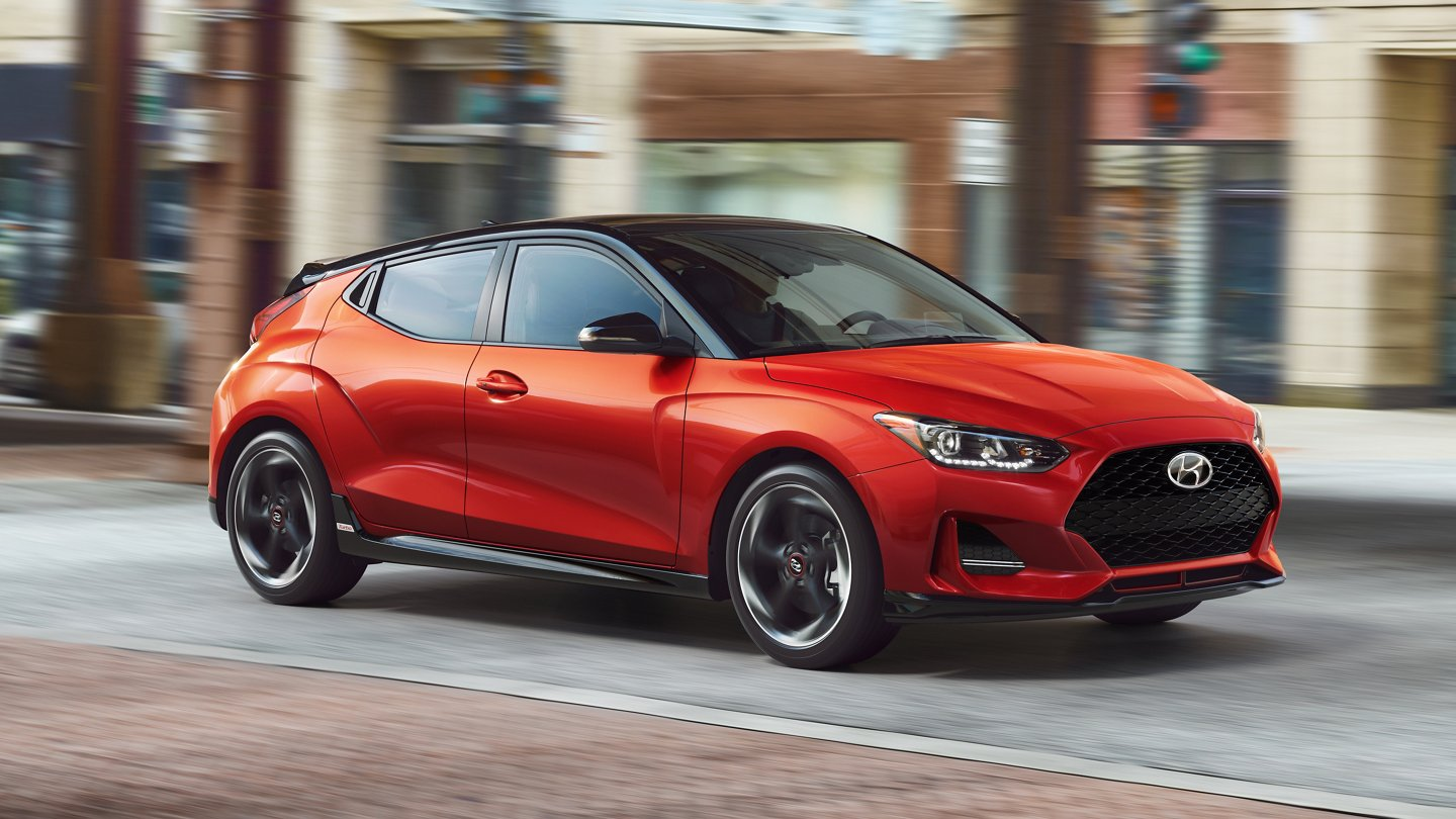 2021 Hyundai Veloster Turbo R-Spec 6 Speed Manual Transmission