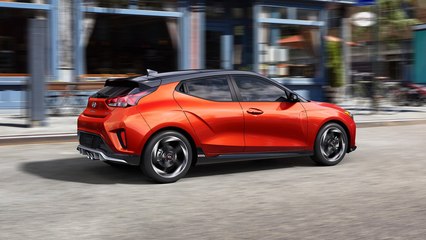2021 Veloster Turbo in Orange