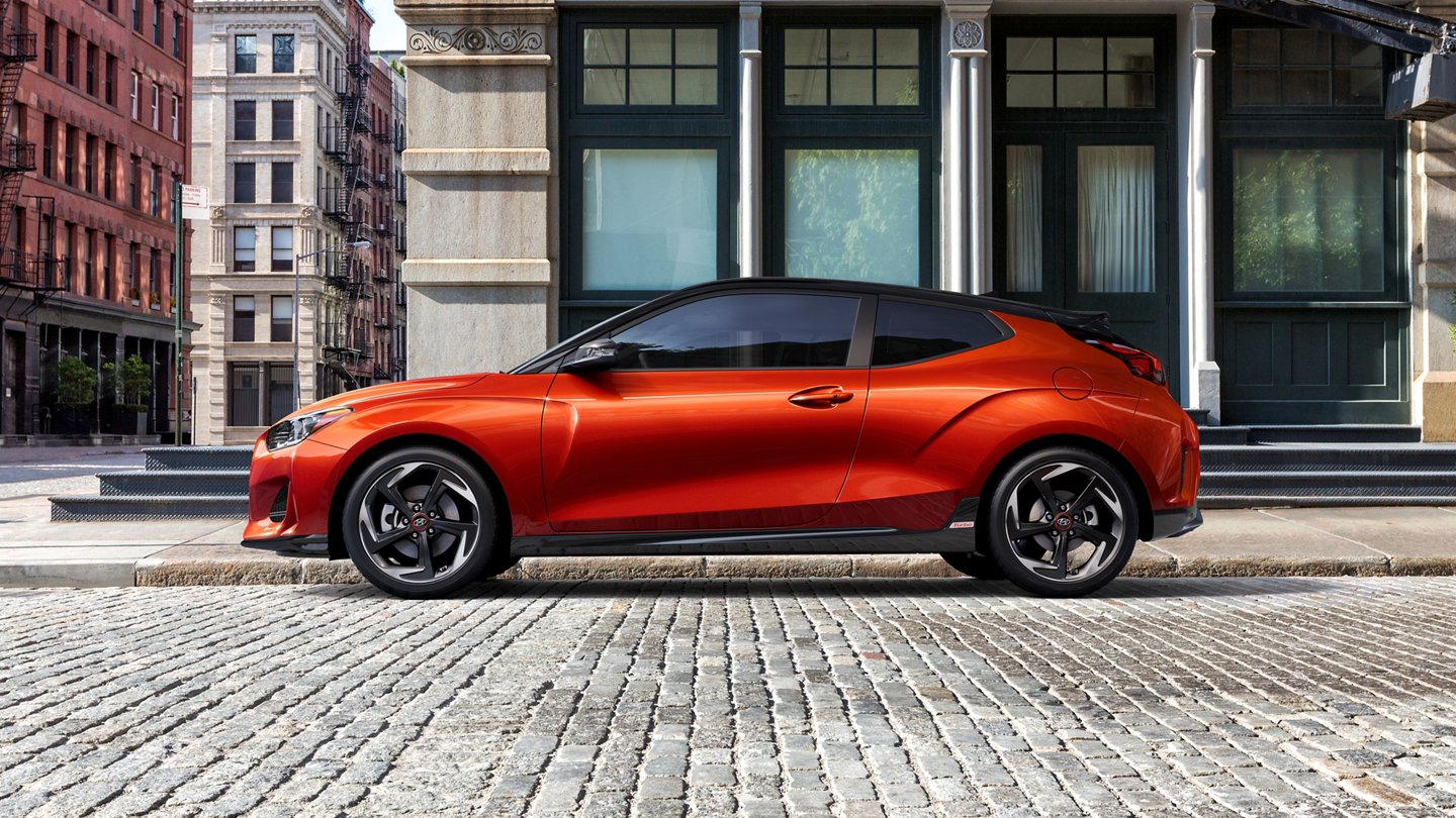 2021 Hyundai Veloster in Orange