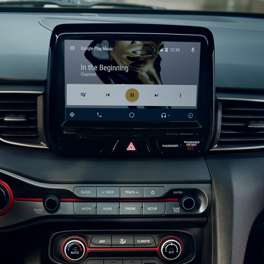 2021 Hyundai Veloster Android Auto and Apple CarPlay