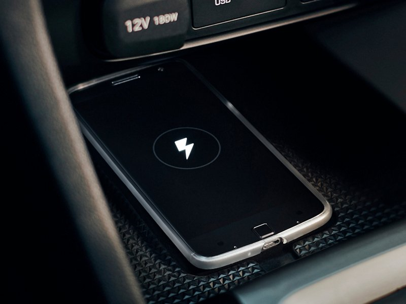 2021 Veloster wireless charger