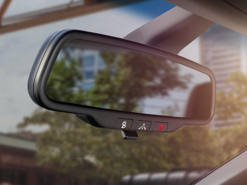 2021 Veloster rear view mirror