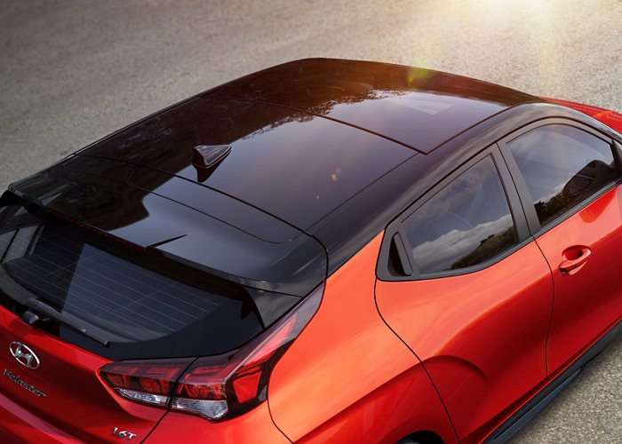 2021 Veloster sunroof