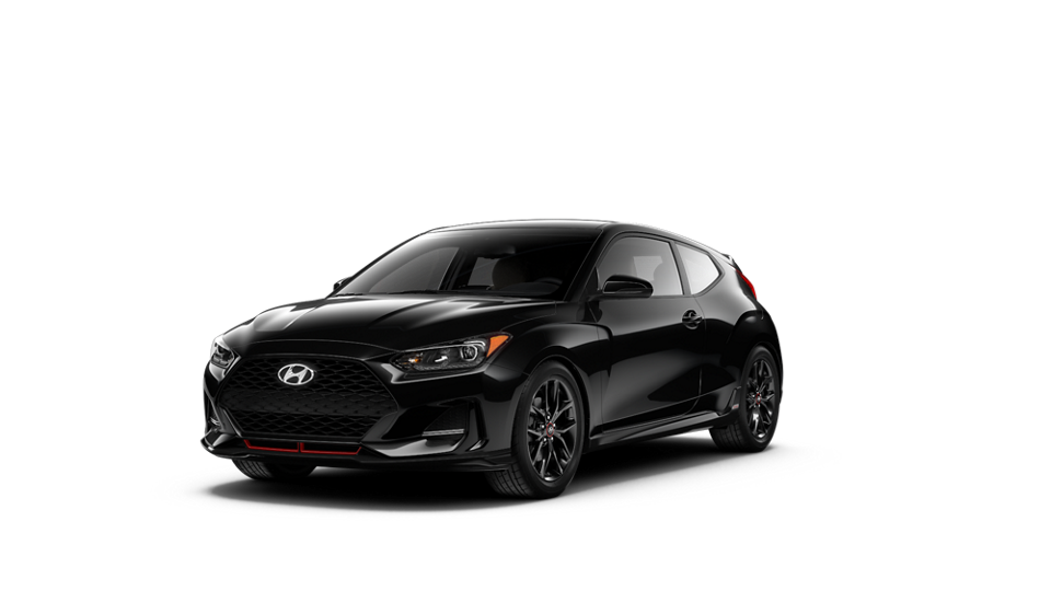 360 Exterior Image of the 2021 VELOSTER Turbo R-Spec in Ultra Black