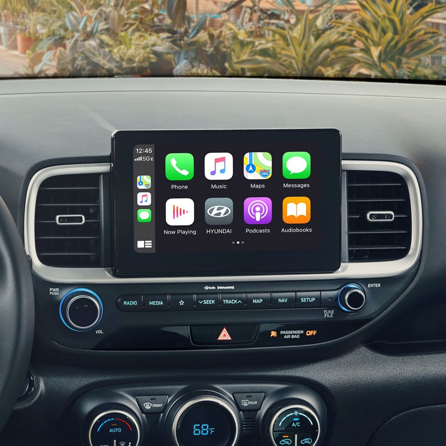 Android Auto y Apple CarPlay del Hyundai Venue 2021