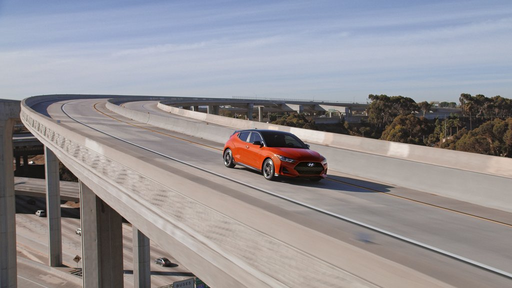 2021 Hyundai Veloster Sunset Orange