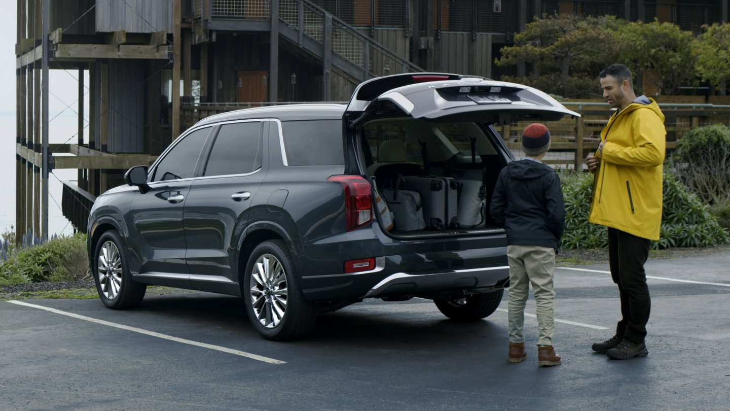 2021 Hyundai Palisade Limited Hands free Smart liftgate