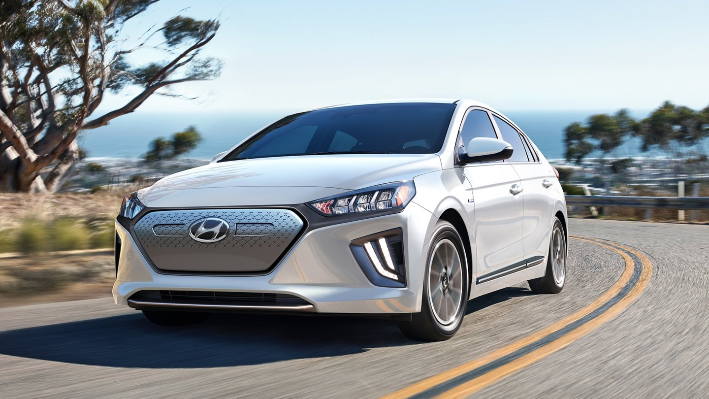 Luces diurnas de LED del Hyundai Ioniq Electric SE 2020