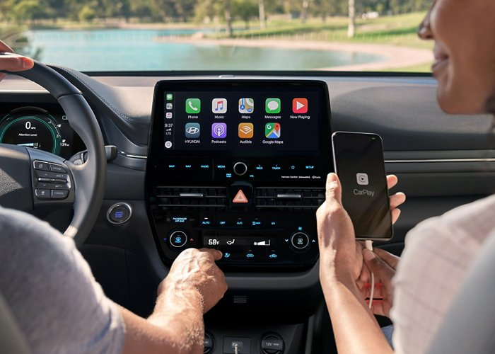Android Auto y Apple CarPlay del Hyundai Ioniq Electric SE 2020