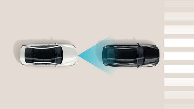 2020 Hyundai Santa Fe Forward Collision-Avoidance Assist with Pedestrian Detection