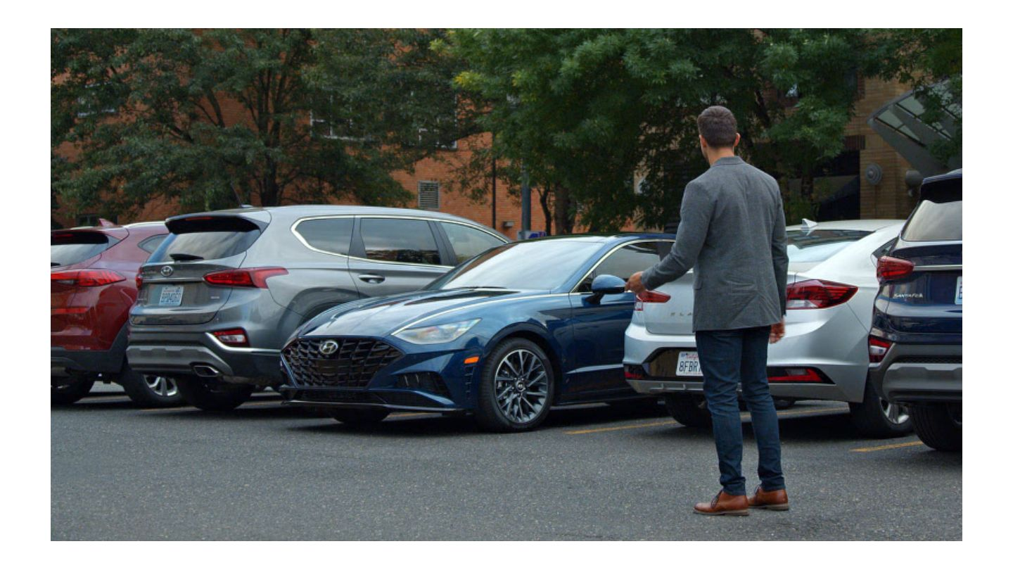 2020 Hyundai Sonata Remote Smart Parking Assist