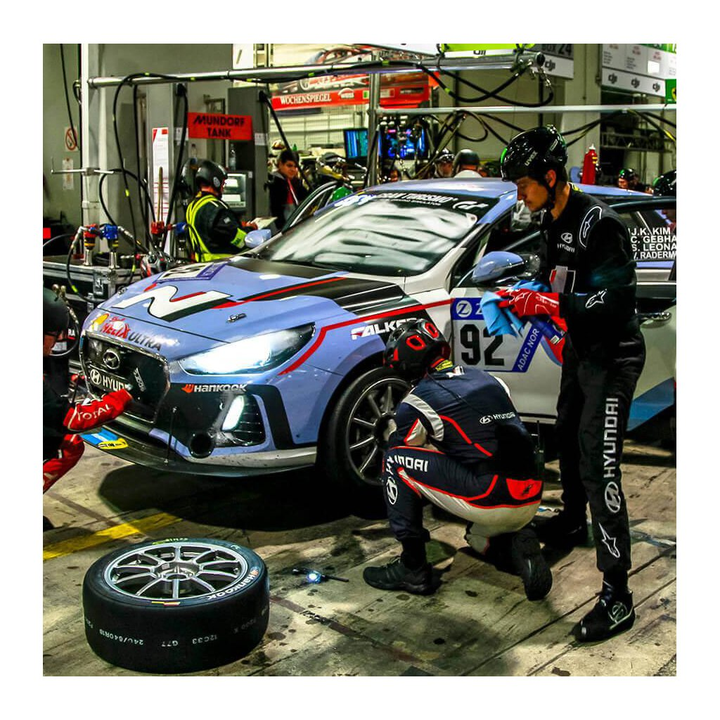 Working on Hyundai Veloster N