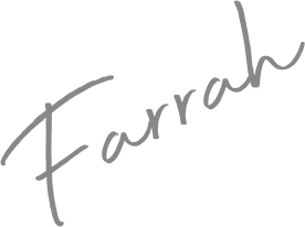 Signature that reads Farrah