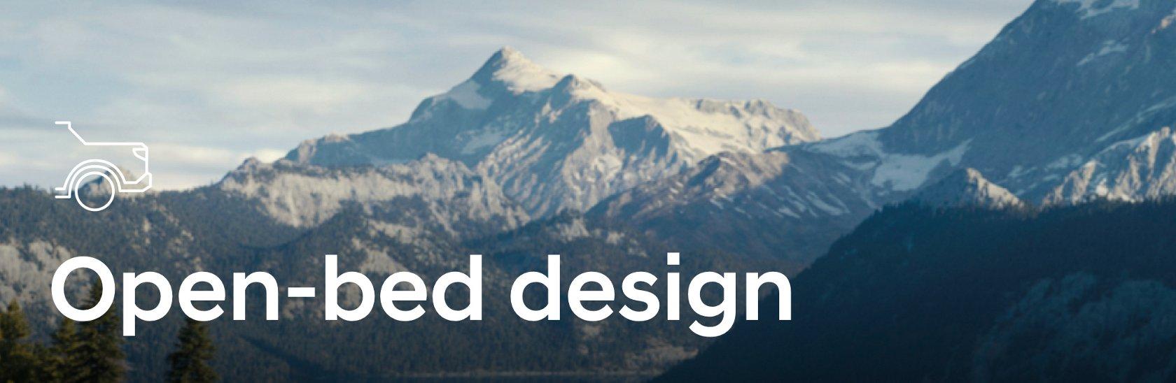 Open-bed Design