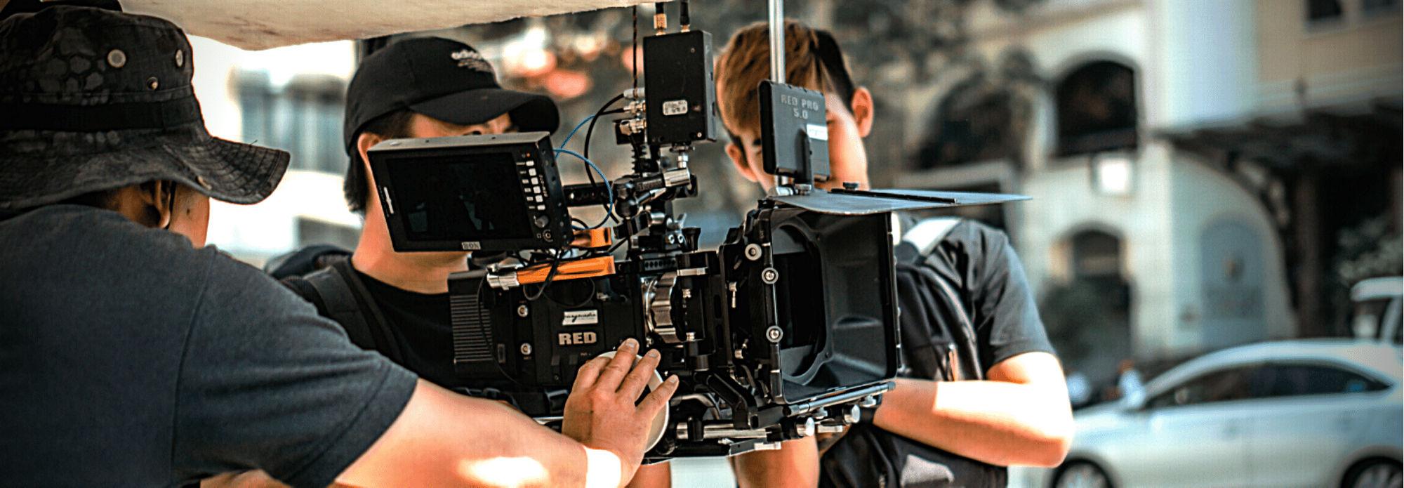 Video recording on set