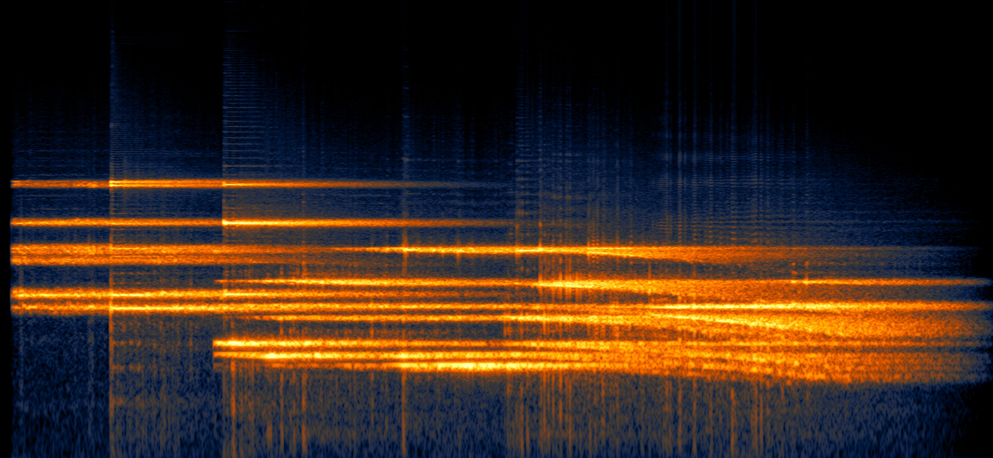 RX 7 spectrogram after some sound design