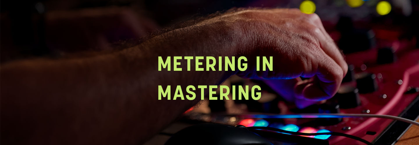 Loudness meters in mastering are an invaluable check against the subjectivity of human hearing.