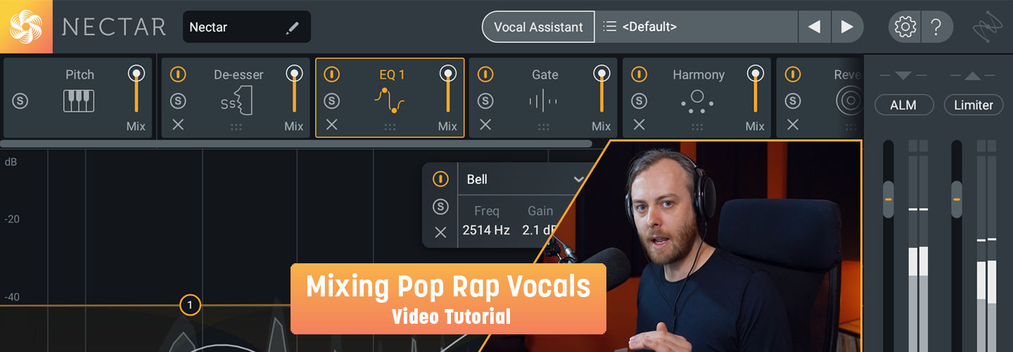 Learn how to mix pop-rap vocals.