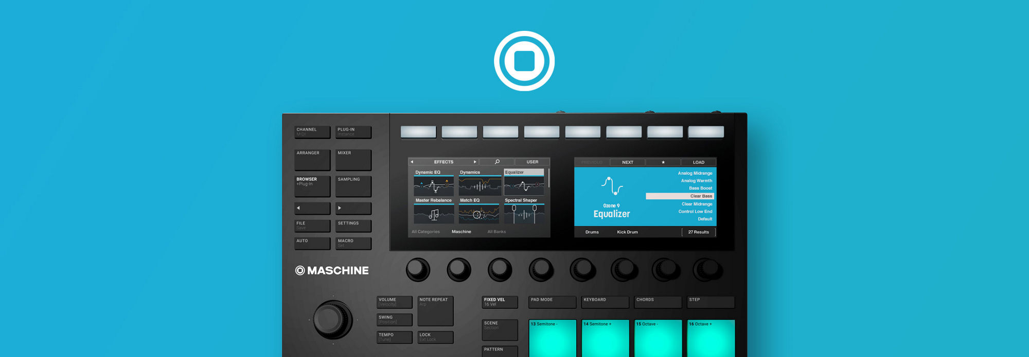 Master a song with Maschine and Ozone 9