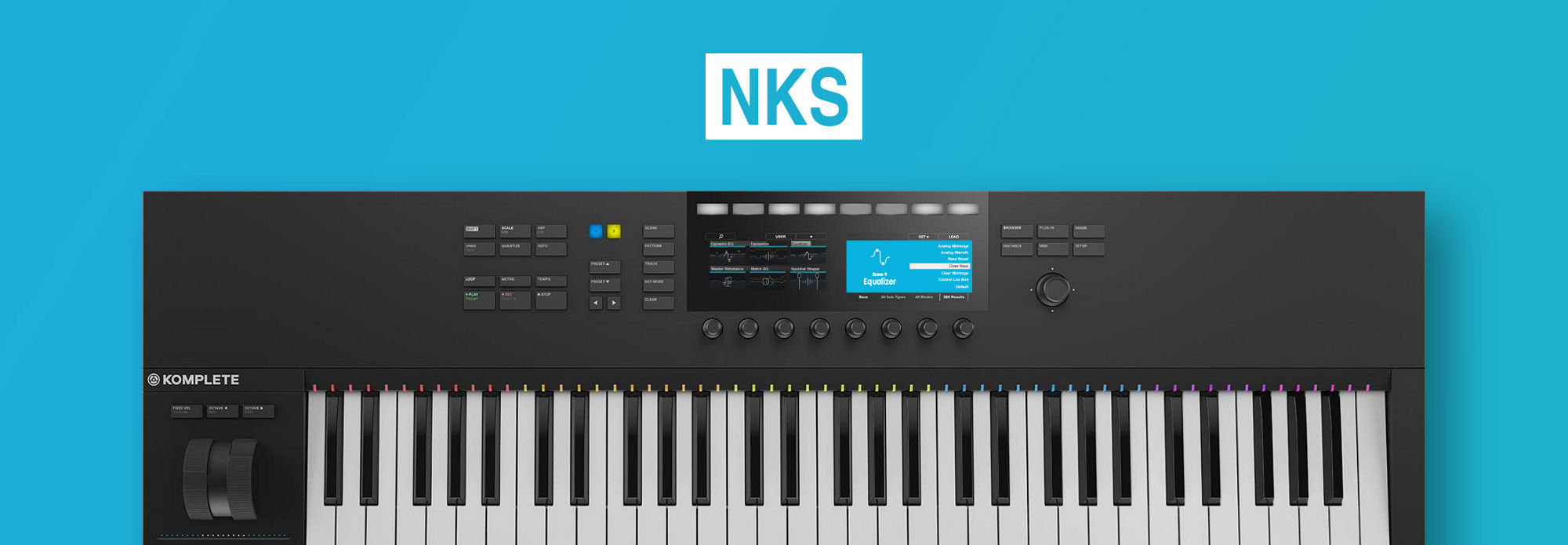 Ozone 9 introduces NKS support.
