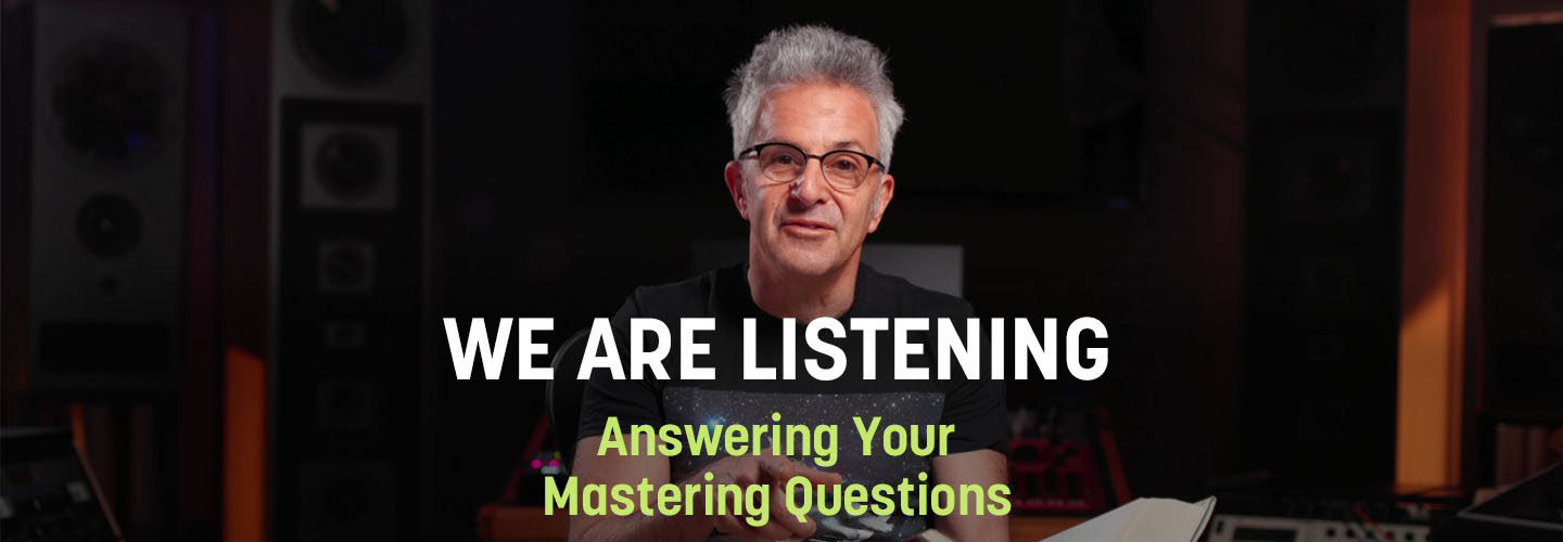 iZotope Education Director Jonathan Wyner answers your mastering questions