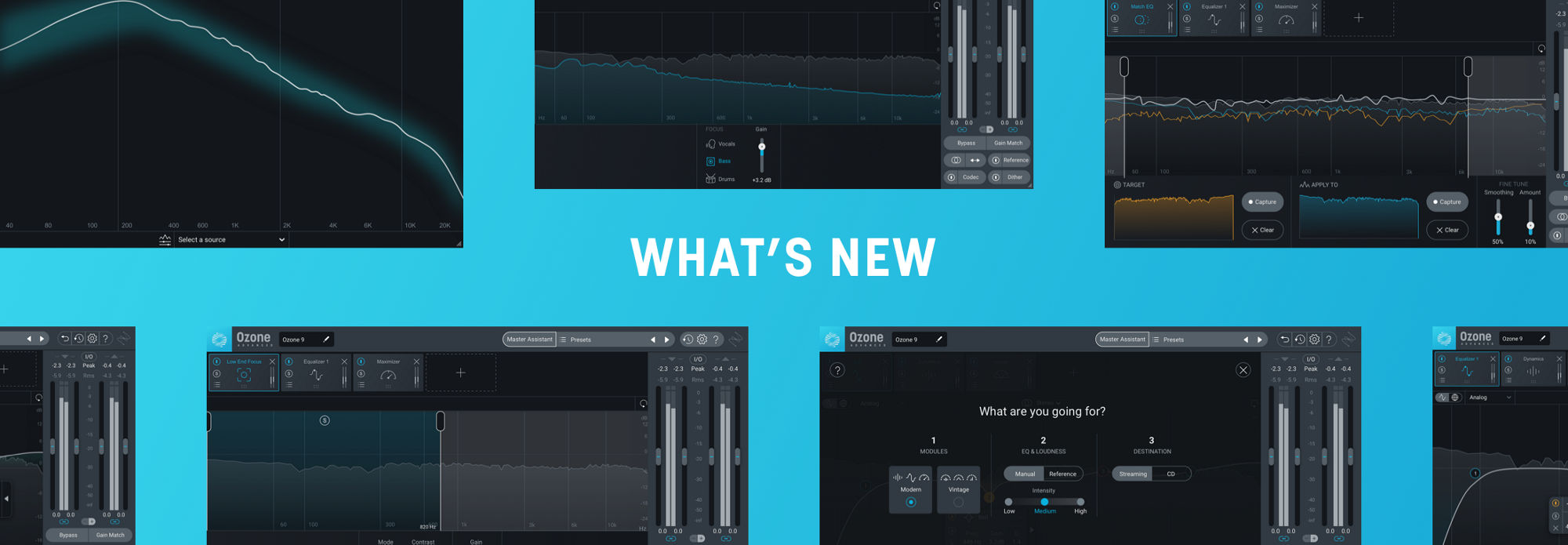 Discover what's new in Ozone 9.