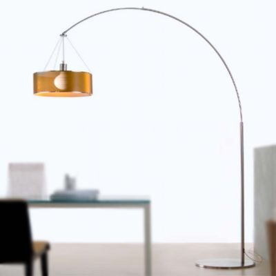 Andcosta steel arc floor lamp ylighting com