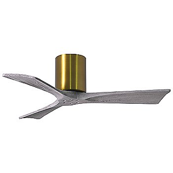 42 Inch / Brushed Brass finish with Barn Wood fan blades finish