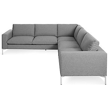 Shown in Spitzer Grey, White leg finish, Small size