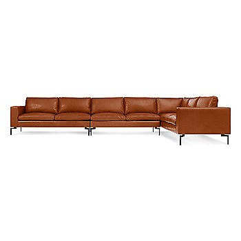 Shown in Toffee Leather, Large Right Configuration