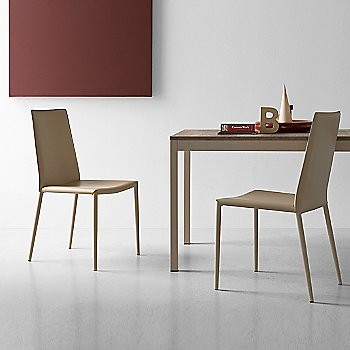 Boheme Chair with Snap Extension Dining Table