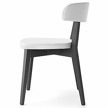 Graphite Frame/White Seat side view