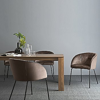 New Smart Extending Dining Table with Rosie Soft Armchair