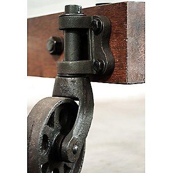 Wheel base detail