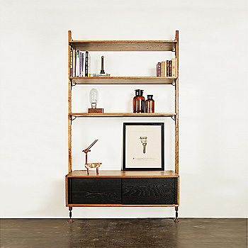 Shelves with Cabinet