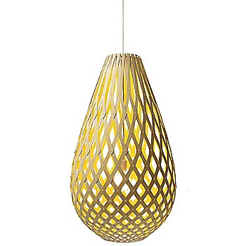 Shown lit in Natural/Yellow finish