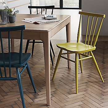 Oceanic, Black, and Chartreuse pictured with the Romana Extension Table (sold separately)