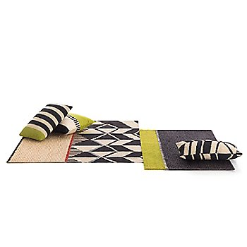 Rustic Chic Geo Rug with Rustic Chic Geo Pillows