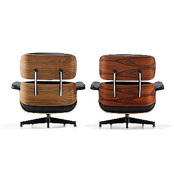 Eames Lounge Chair, Rear veiw