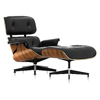 Shown in 2100 Leather Black, Santos Palisander finish