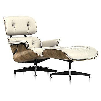 Shown in 2100 Leather Ivory, New Oiled Walnut finish