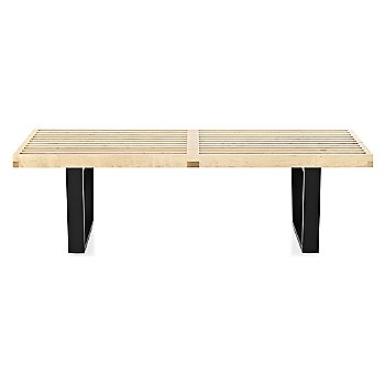 Shown in Natural Maple finish with Ebonized Wood base finish, Small / 48-In. Wide