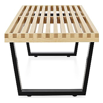 Shown in Natural Maple finish with Ebonized Wood base finish, Medium / 60-In. Wide