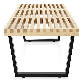 Shown in Natural Maple finish with Ebonized Wood base finish, Large / 72-In. Wide