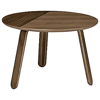 Walnut finish / Medium / 24-In. Dia. size