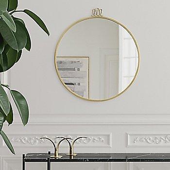 Rondaccio Circular Mirror with TS Console Table 1-Rack